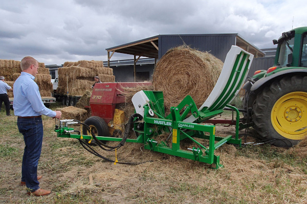 Hustler Farm | Bale Feeders | Chainless Rebalers for sale at Sorum Tractor Co., Inc.