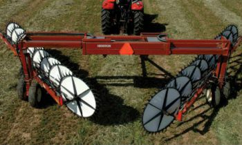Rakes and Tedders for Cleaning and Windrow Formation » Sorum