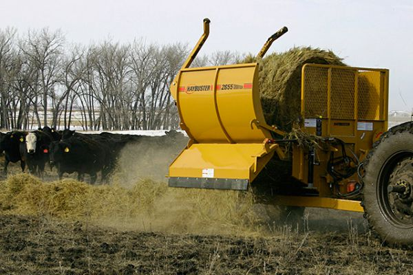HayBuster | Bale Processors | Model 2655 Balebuster - old  for sale at Sorum Tractor Co., Inc.
