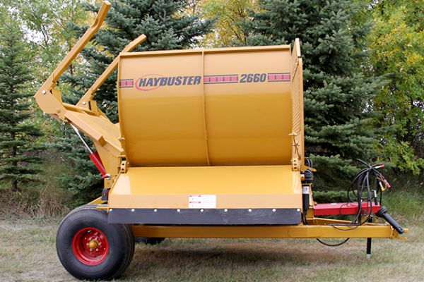 HayBuster | Bale Processors | Model 2660 Balebuster for sale at Sorum Tractor Co., Inc.