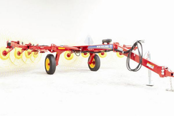 New Holland | ProCart™ and ProCart™ Plus Deluxe Carted Wheel Rakes | Model 819 8-Wheel for sale at Sorum Tractor Co., Inc.