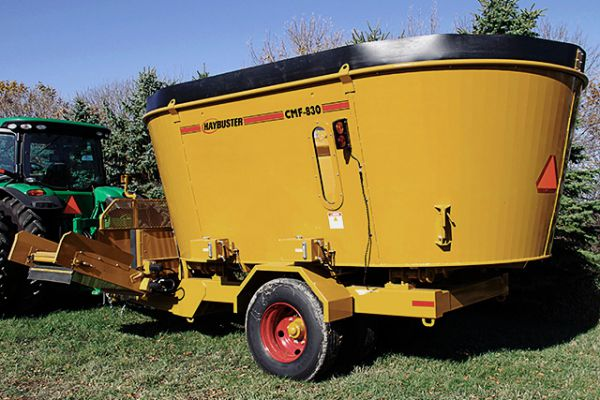 HayBuster | Vertical Mixers / Cutter-Mixer-Feeder | Model CMF-830 for sale at Sorum Tractor Co., Inc.