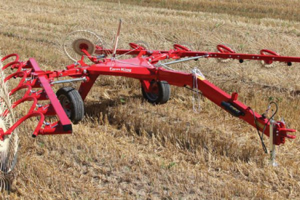 Farm King | Bat Rake | Model RB8 for sale at Sorum Tractor Co., Inc.