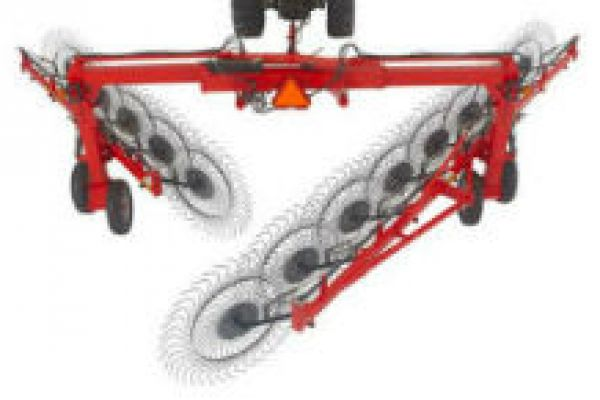 Massey Ferguson | Rakes & Tedders | SV Series Super V + Y Rakes for sale at Sorum Tractor Co., Inc.