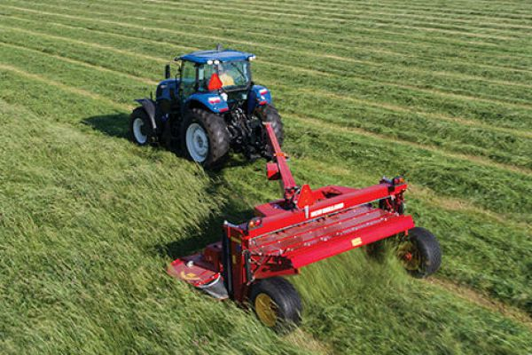 New Holland | Discbine® 310/312 Center-Pivot Disc Mower-Conditioners | Model Discbine® 310 (Steel) for sale at Sorum Tractor Co., Inc.