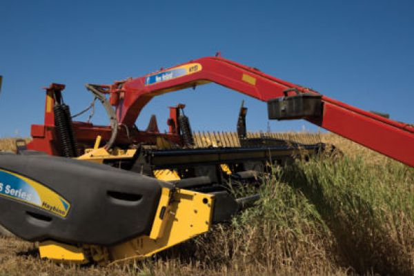 New Holland | Haybine Mower-Conditioner | Model H7150 Trail Frame and HS14 Haybine® Head for sale at Sorum Tractor Co., Inc.