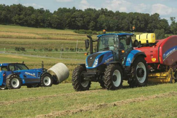 New Holland | T5 Series - Tier 4B | Model T5.120 Dual Command™ for sale at Sorum Tractor Co., Inc.