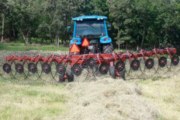 Rhino | Crop Driven Rakes | VRX High Capacity Hay Rake for sale at Sorum Tractor Co., Inc.