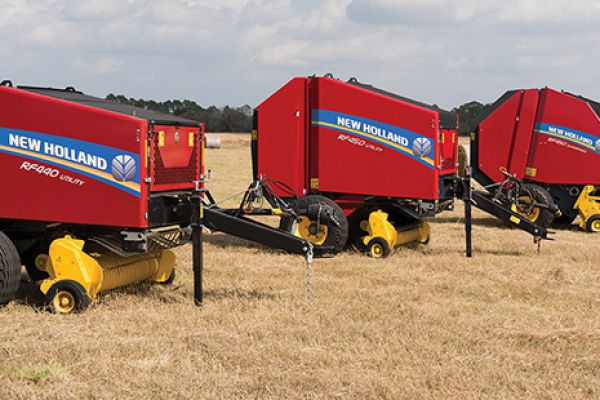 New Holland | RF Fixed Chamber Round Baler | Model RF440 Utility for sale at Sorum Tractor Co., Inc.